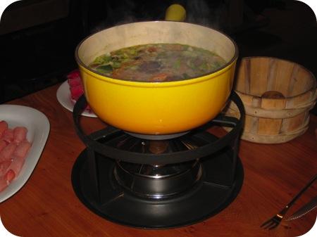 fondue chinoise chalet gruyere menen