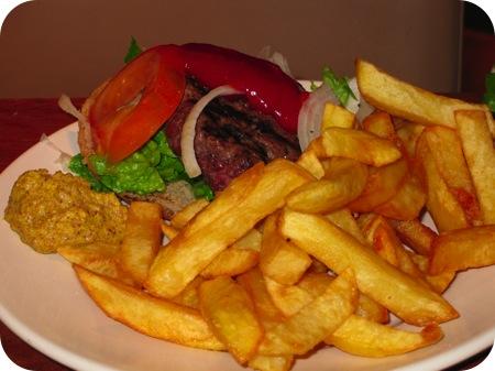 Classic Burger Menu La Place - Antwerpen