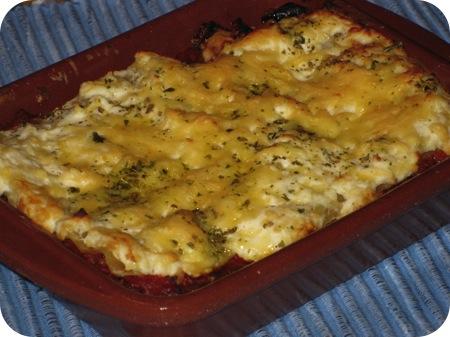 Lasagne met Courgette en Ricotta