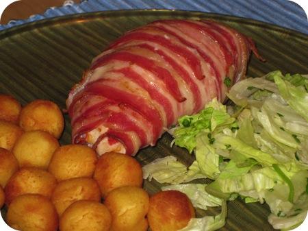 Kipfilet met Paprika en Ricotta uit de Oven