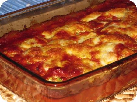 Lasagne met Courgette, Ricotta en Kruiden