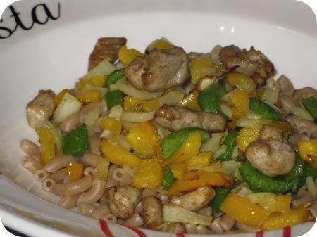 Macaroni met Shoarma