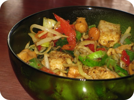 Valess Ready to Wok – Thai Green Curry