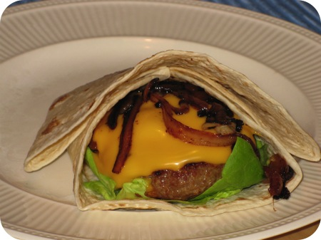 Mega Burger Wraps