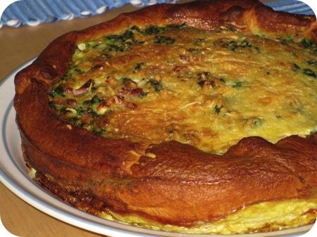 Spinazie Taart