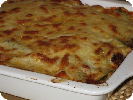 Sperziebonen Lasagnette