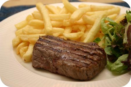 Biefstuk met Friet