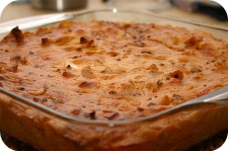 Penne al Forna ai 4 formaggi uit de oven met vier kazen