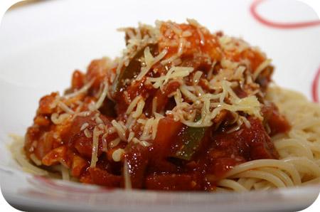 Spaghetti met Chorizo en Paprika