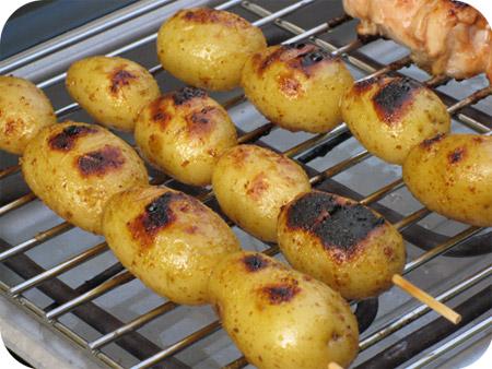 Geroosterde Honing Mosterd Aardappeltjes