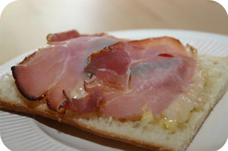 Ciabatta met Kaas, Tomaat en Rauwe Ham