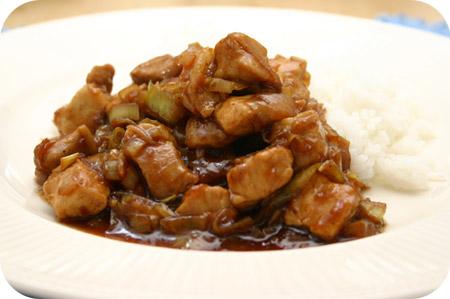 Rijst met Babi Kecap