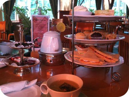 Hotel 't Paviljoen - Rhenen / le maquisard, brasserie mondial high tea