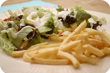 Hollandse Salade met Franse Frites