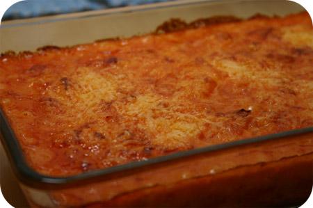 Penne met Tomaten- en Kaassaus