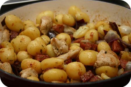 Kip Aardappelschotel