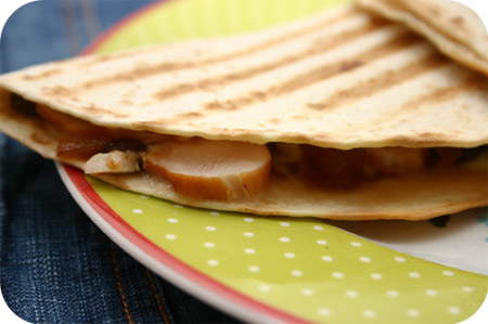 Wraps met Gerookte Kipfilet en Chutney