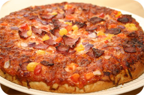 Oetker bacon pizza