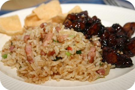 Nasi met Babi Ketjap