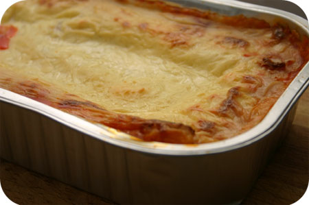 Lasagne van de Appie