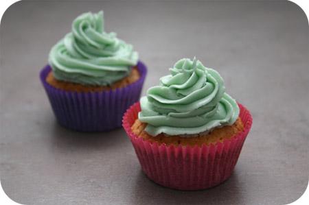 Cupcakes met Topping