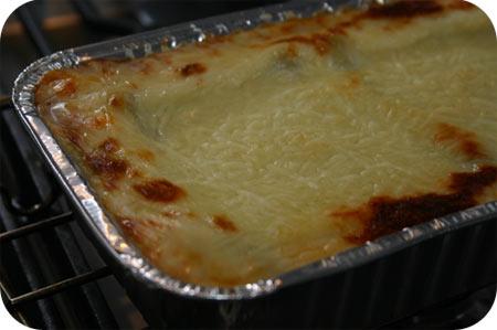 C1000 Lasagne met Spinazie