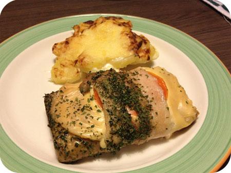 Italiaanse Steak met Gegratineerde Aardappeltjes