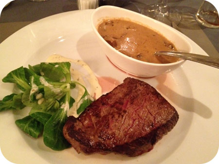 D'Hoeve - Sint Michiels steak champignons