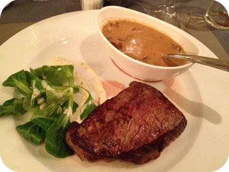 D'Hoeve - Sint Michiels steak champignons