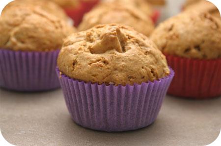 Muffins met Appel en Spekkoekkruiden