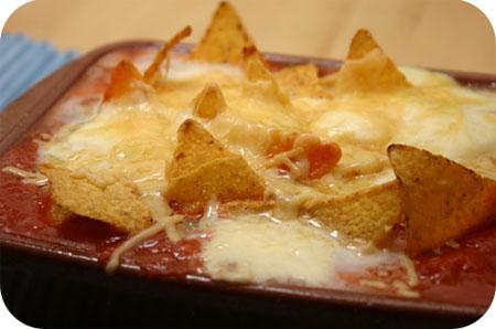 Taco Chips Ovenschoteltje