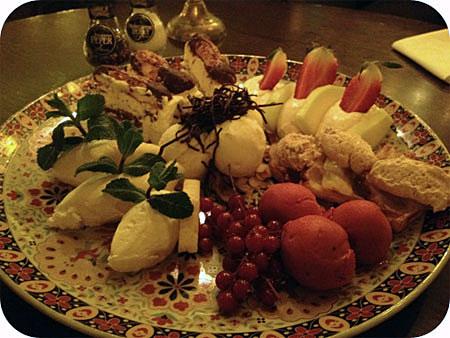 De Colonie - Houten grand dessert