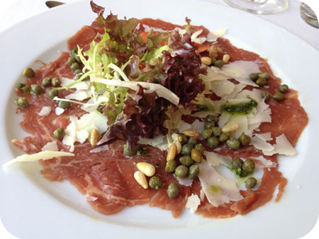 Eat Cetera Ede carpaccio