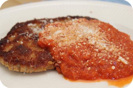 Wienerschnitzel met Tomatensaus