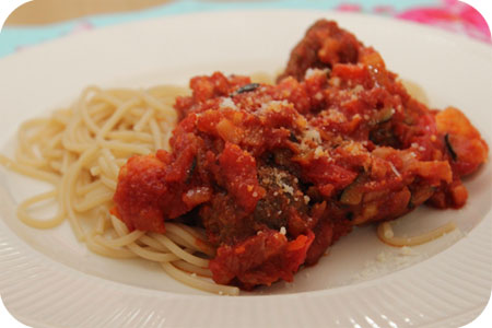 Kliekjes Spaghetti