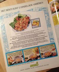 aviko reclame 1977 tip culinair
