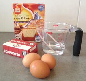 ingredienten Oud Hollandse Cake & Koek van Koopmans