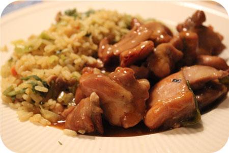 Nasi met Japans Kipfilet van de Groenteboer