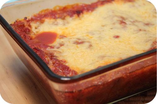 Kliekjes Lasagne