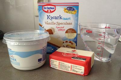 Ingrediënten dr. Oetker vanille speculaastaart