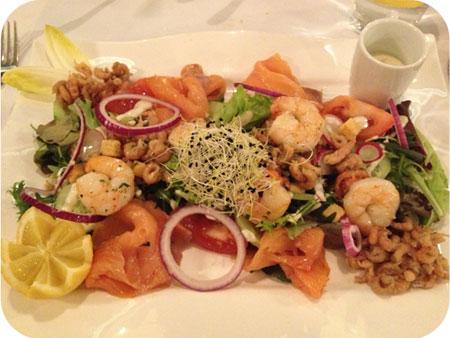 salade otus met zeevruchten etc Otus in Wetteren