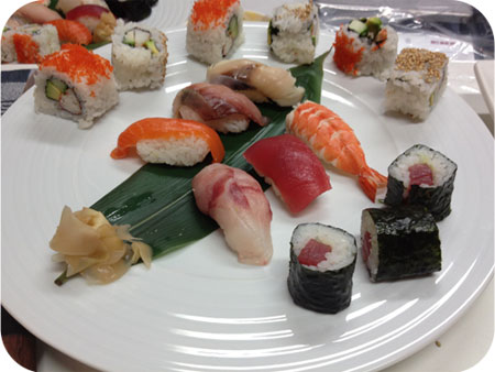 sushi by anja kikkoman sushiworkshop  okura