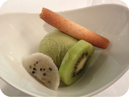 groene thee ijs kikkoman sushiworkshop  okura