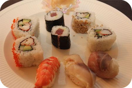 Nog meer sushi