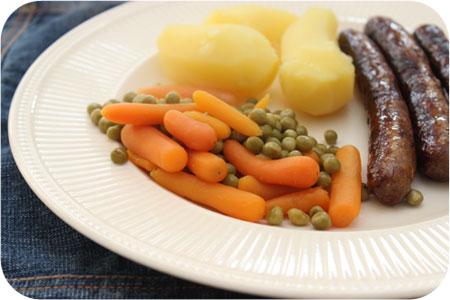 Aardappels, Vlees en Groenten