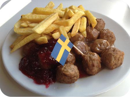 Zweedse Balletjes at IKEA Amersfoort