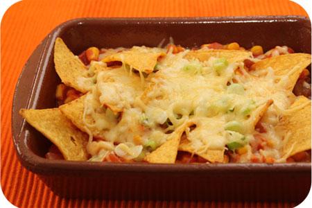 Vega: Tortilla Chips Ovenschoteltje