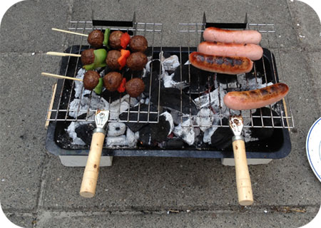 Vakantie Barbecue