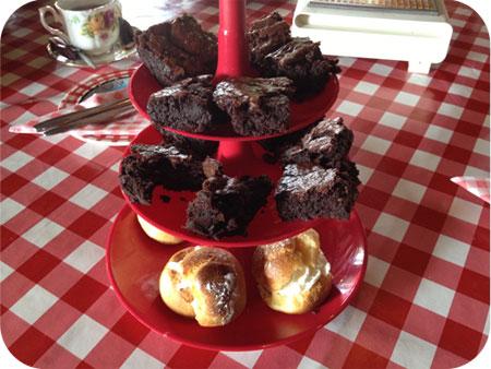 High Pancake bij Sara in Eenrum brownies en soepjes