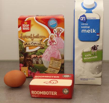 Koopmans Sprookjesboom Mini Cupcakes ingrediënten